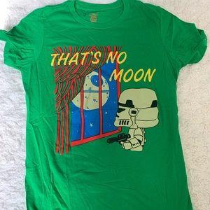 Tops - STAR WARS Novelty goodnight Moon t-shirt / small